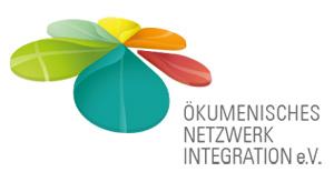 Logo Ökumenisches Netzwerk Integration